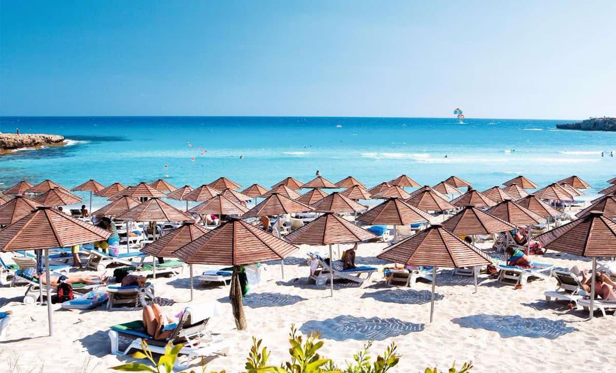 Кипр! Айа-Напа - уникальные пляжи и чистейшее море!